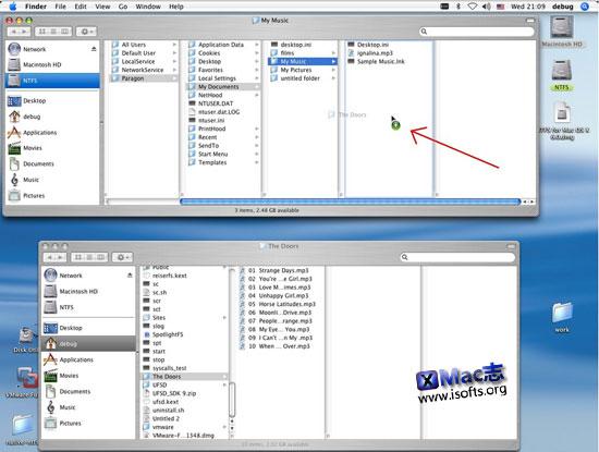 Paragon NTFS:让Mac系统读写NTFS的工具
