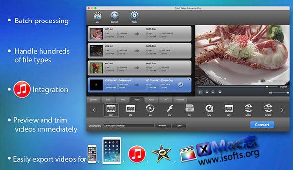 Total Video Converter For Mac:Mac下强大的视频转换器