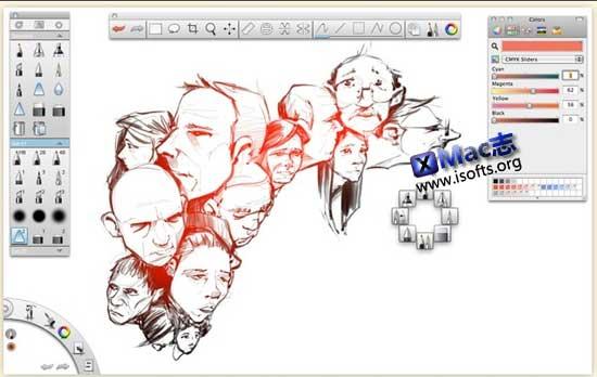 SketchBook Pro for Mac : Mac平台专业的电脑绘画软件