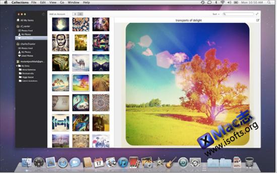 Collections for Mac : Mac平台支持Google Docs及Instagram的桌面客户端