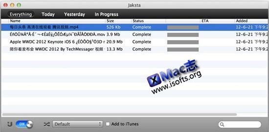 Jaksta Media Recorder : Mac OS X系统优酷土豆等在线视频下载工具