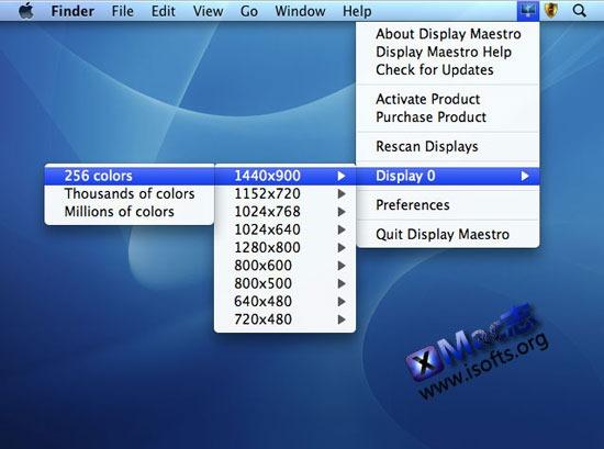 Display Maestro : Mac平台的显示器增强型设置工具