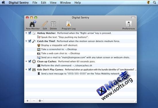 Digital Sentry : Mac平台的系统监控工具