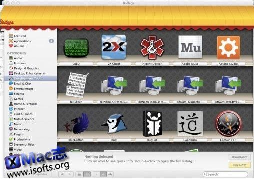 Bodega : Mac平台的类App Store软件商店