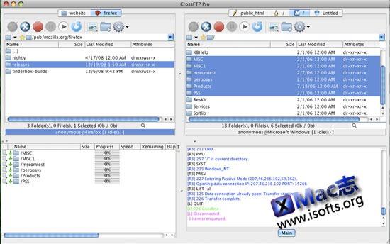 CrossFTP : Mac平台的FTP客户端和Amazon S3云存储工具