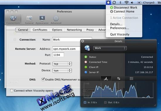 Viscosity : Mac平台的OpenVPN客户端