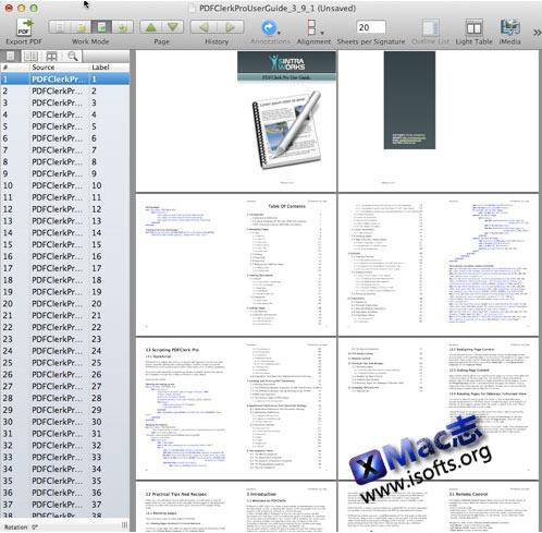 PDFClerk Pro : Mac平台的PDF文件编辑工具