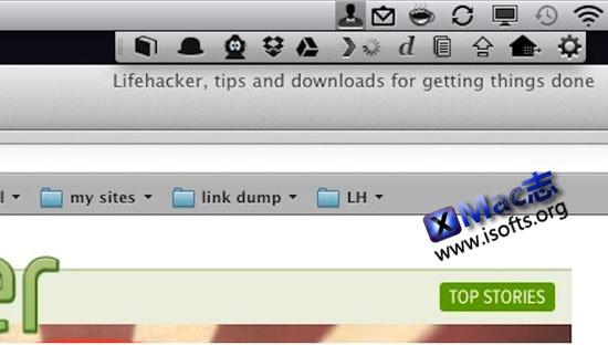 Bartender : Mac平台的用于管理菜单栏图标的实用工具