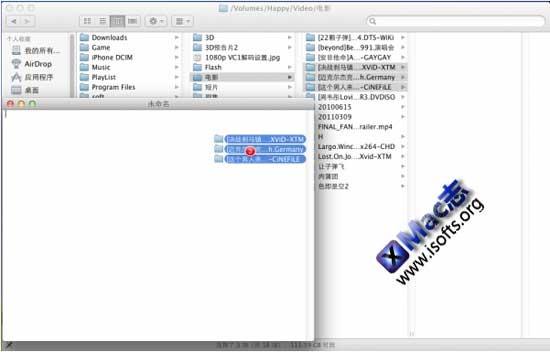 Mac OS X下快速复制文件路径