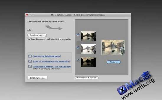 Photomatix Pro mac : Mac平台的高容度图片处理合成工具