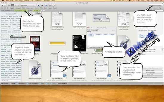 YEP : Mac平台的文档管理工具