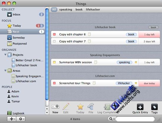 Things : Mac平台优秀的GTD任务管理工具