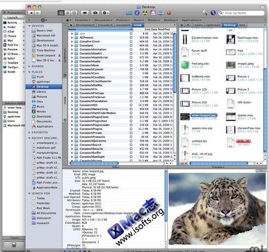 Path Finder : Mac平台强大的文件管理工具