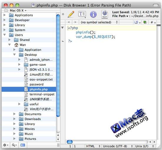 TextWrangler : Mac平台优秀的文本编辑器