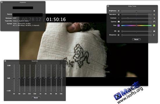 MPlayerX : Mac平台优秀的高清视频播放软件
