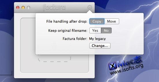 Factura : Mac平台的文件整理辅助工具