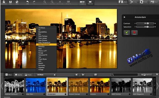 FX Photo Studio Pro : Mac平台专业的图片特效工具