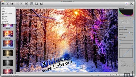 Photo Effect Studio Pro : Mac平台轻松实现给照片添加特效效果