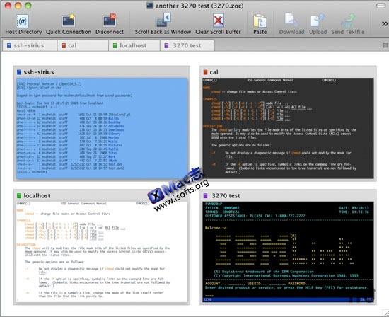 ZOC : Mac平台的telnet客户端和终端模拟器