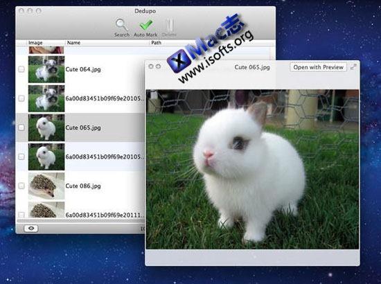 Dedupo : Mac平台的重复文件查找工具