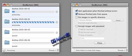 RedButton DMG : Mac平台下批量制作DMG文件【免费】