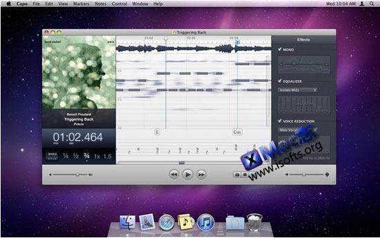 Capo : Mac平台帮助你学习歌曲的软件