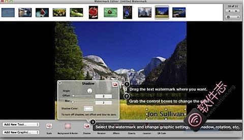 iWatermark Pro : Mac平台强大的图片批量加水印工具