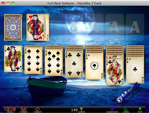 Full Deck Solitaire : Mac平台的接龙游戏大集合[免费]