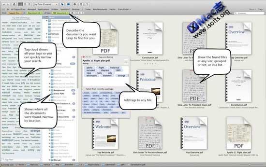 Leap : Mac平台集Spotlight/Bridge/Finder等功能于一身的Finder增强工具