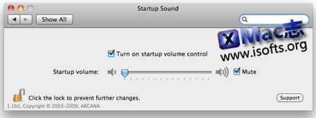 StartupSound : 关闭或调整Mac开机声音