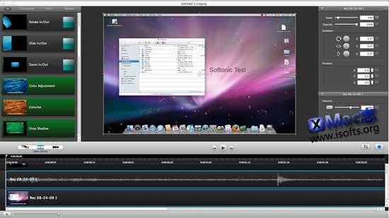 Mac平台专业的屏幕录像软件 : Camtasia for Mac