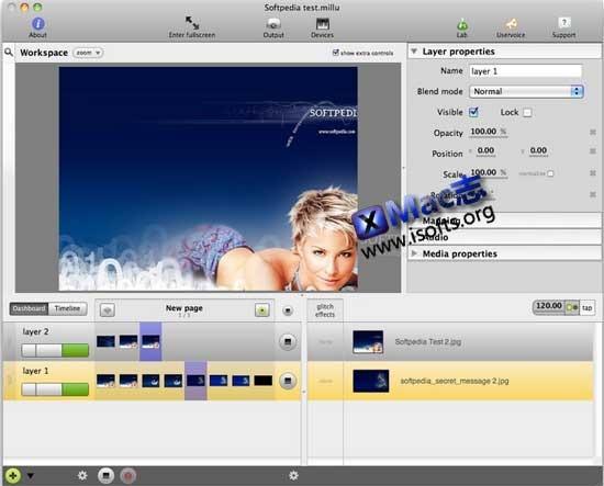 Mac平台专业的视频编辑处理工具 : Millumin