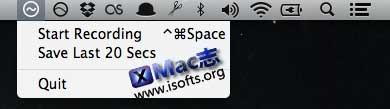 Mac平台的音频录制工具 : WavTav