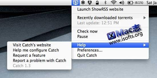 Mac平台的美剧种子自动下载工具 : Catch