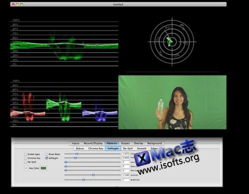 Mac平台专业的视频处理工具[Final Cut Pro视频插件] : Veescope Live
