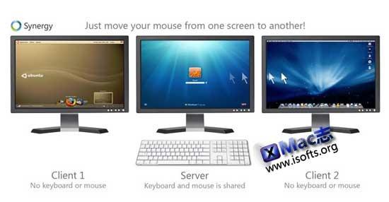 局域网内用一套鼠键控制多台Mac电脑 : Synergy for Mac