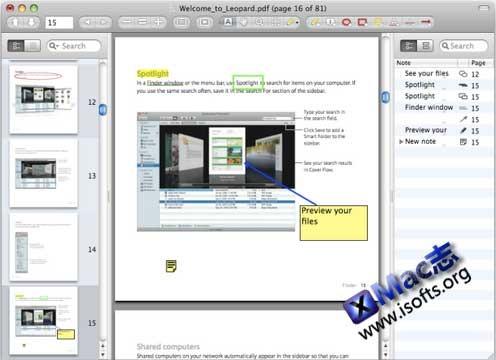Mac平台支持笔记注释操作的PDF阅读器 : Skim