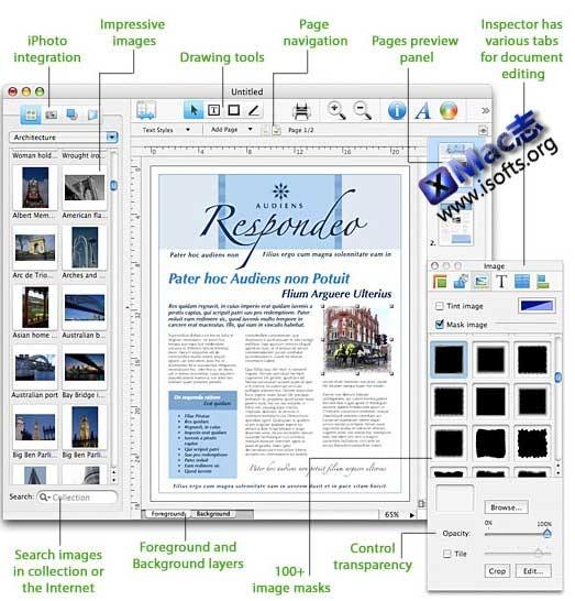 Mac平台专业的出版物设计排版工具 : Swift Publisher