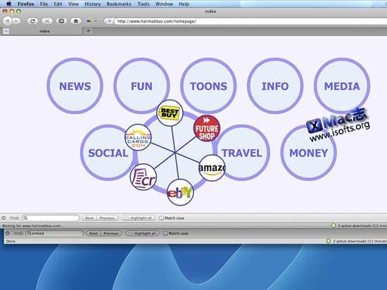 circlesBuilder : Mac平台华丽的书签收藏夹管理工具