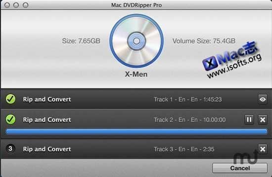 Mac DVDRipper Pro : Mac平台的DVD提取及视频转换工具