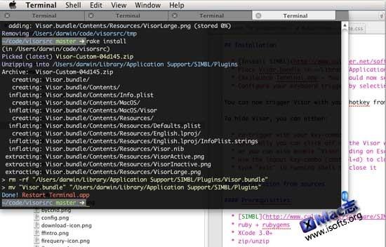Mac平台的多标签终端(Terminal)工具 : TotalTerminal