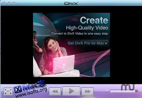 Mac平台的高品质视频转换工具及视频播放器 : DivX Pro for Mac