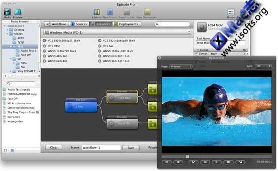 Episode Pro : Mac平台专业的视频格式转换和视频压缩工具