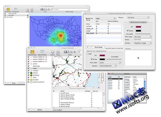 Mac平台的测绘数据化图形工具 : Cartographica