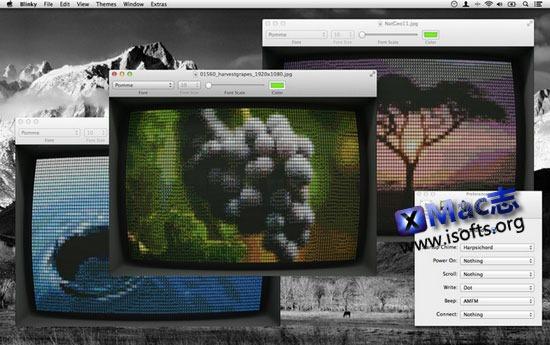 Mac平台复古型UI的文本编辑器 : Blinky