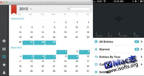 Day one for Mac : Mac平台界面精美的日记软件