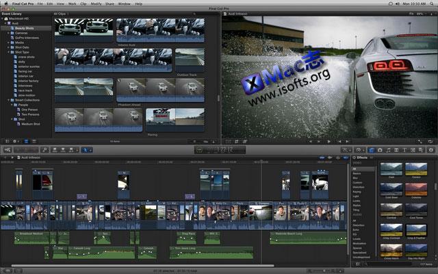 Final Cut Pro X for Mac正式版:Mac平台强大的视频编辑工具