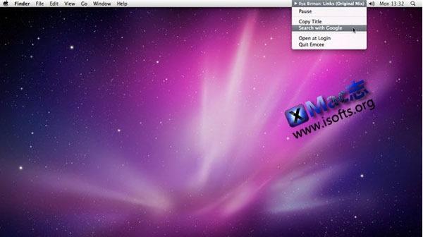 Mac平台安静的itunes菜单栏播放工具 : Emcee
