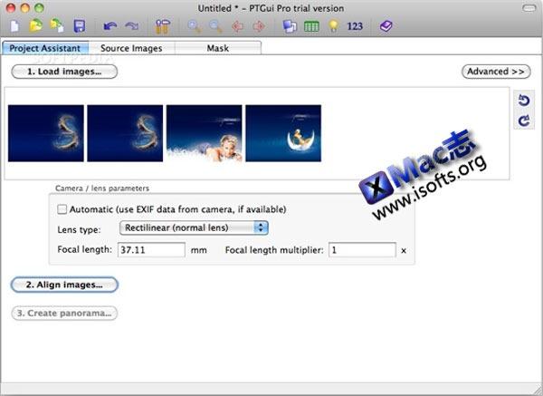 Mac平台的全景图片制作工具 : PTGui Pro