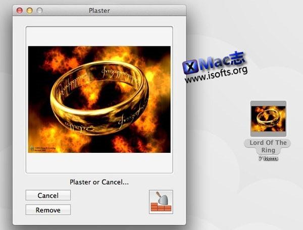 Mac平台将任何图片设置为文件夹图标 : Plaster For Mac